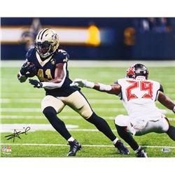 Alvin Kamara Signed New Orleans Saints 16x20 Photo (Beckett COA)