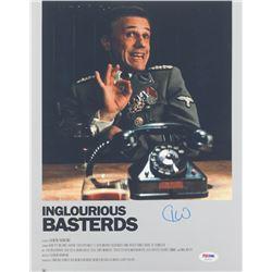 "Christoph Waltz Signed ""Inglourious Basterds"" 11x14 Photo (PSA COA)"