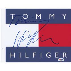 Tommy Hilfiger Signed 8x10 Photo (PSA COA)