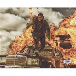 "Tom Hardy Signed ""Mad Max: Fury Road"" 8x10 Photo (PSA COA)"