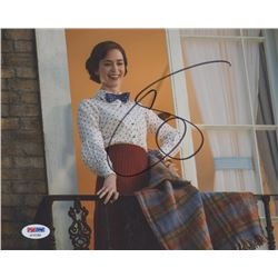 "Emily Blunt Signed ""Mary Poppins Returns"" 8x10 Photo (PSA COA)"