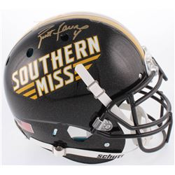 Brett Favre Signed Southern Miss Golden Eagles Full-Size Authentic On-Field Helmet (Radtke COA)