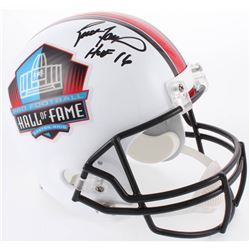 "Brett Favre Signed Hall of Fame Full-Size Authentic On-Field Helmet Inscribed ""HOF 16"" (Radtke COA)"
