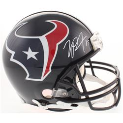 Will Fuller Signed Houston Texans Full-Size Authentic On-Field Helmet (JSA COA)