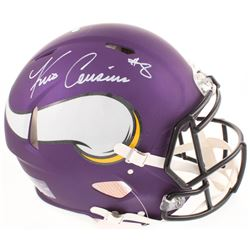 Kirk Cousins Signed Minnesota Vikings Full-Size Authentic On-Field Speed Helmet (Radtke COA)