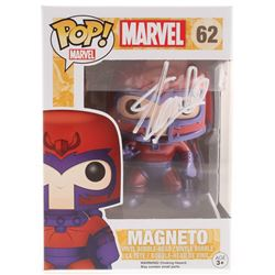 Stan Lee Signed Marvel Magneto #62 Funko Pop! Vinyl Figure (Radtke COA  Lee Hologram)
