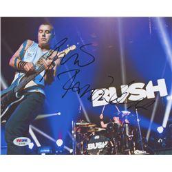 "Gavin Rossdale Signed ""Bush"" 8x10 Photo (PSA COA)"