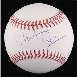 Christian Bale Signed OML Baseball (JSA COA)