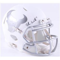 Deshaun Watson Signed Houston Texans White ICE Mini Speed Helmet (JSA COA)