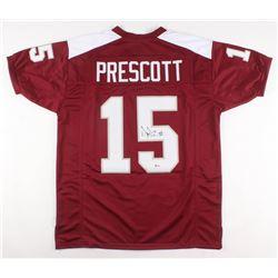 Dak Prescott Signed Jersey (Beckett COA)