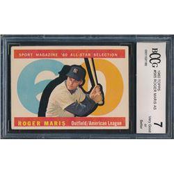 1960 Topps #565 Roger Maris All-Star (BCCG 7)