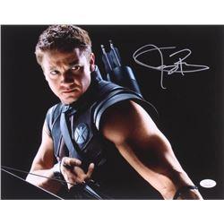 "Jeremy Renner Signed ""The Avengers"" 11x14 Photo (JSA COA)"