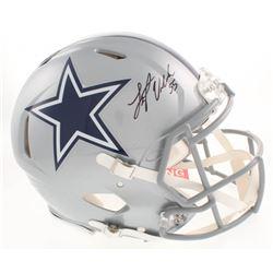 Leighton Vander Esch Signed Dallas Cowboys Full-Size Authentic On-Field Speed Helmet (Beckett COA)