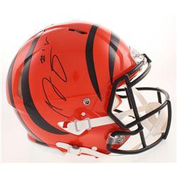 A.J. Green Signed Cincinnati Bengals Full-Size Authentic On-Field Speed Helmet (JSA COA)
