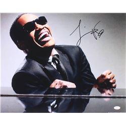 """Jamie Foxx Signed """"Ray"""" 16x20 Photo (JSA COA)"""