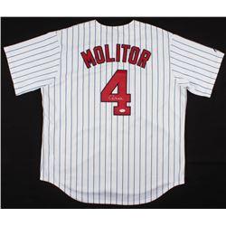 Paul Molitor Signed Minnesota Twins Jersey (JSA COA)