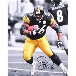 Jerome Bettis Signed Pittsburgh Steelers 16x20 Photo (Beckett COA)