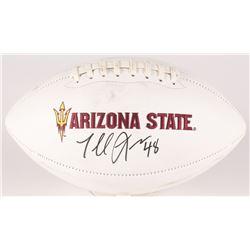 Terrell Suggs Signed Arizona State Sun Devils Logo Football (Radtke COA)