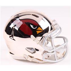 Terrell Suggs Signed Arizona Cardinals Chrome Speed Mini-Helmet (Radtke COA)