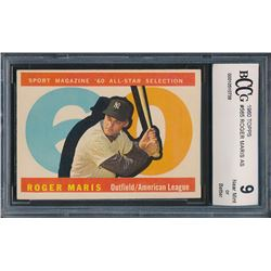 1960 Topps #565 Roger Maris AS (BCCG 9)
