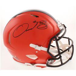 Odell Beckham Jr. Signed Cleveland Browns Full-Size Authentic On-Field Speed Helmet (JSA COA)