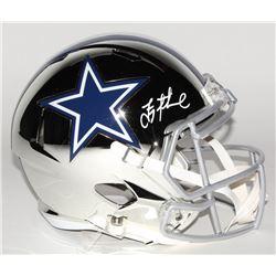 Troy Aikman Signed Dallas Cowboys Full-Size Chrome Speed Helmet (Beckett COA)