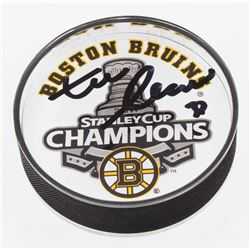 Zdeno Chara Signed 2011 Stanley Cup Boston Bruins Acrylic Hockey Puck (Your Sports Memorabilia Store