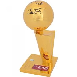 "Dwyane Wade Signed 2006 NBA Champions Replica Larry O'Brien Trophy Inscribed ""06 Finals MVP"" (Fanati"