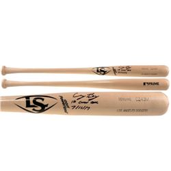 "Cody Bellinger Signed Louisville Slugger Baseball Bat Inscribed ""1st Career Cycle 7/15/17"" (Fanatics"