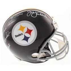 "Steelers ""Defensive Greats"" Full-Size Helmet Signed By (5) With Joe Greene, Jack Ham, Jack Lambert,"