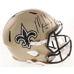 Mark Ingram Signed New Orleans Saints Full-Size Speed Helmet (Radtke COA  Ingram Hologram)