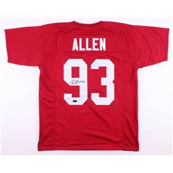 Jonathan Allen Signed Jersey (Radtke COA)
