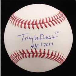 "Tony La Russa Signed OML Baseball Inscribed ""H/F 2014"" (JSA COA)"