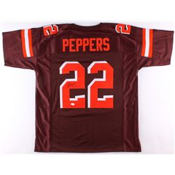Jabrill Peppers Signed Jersey (JSA COA)