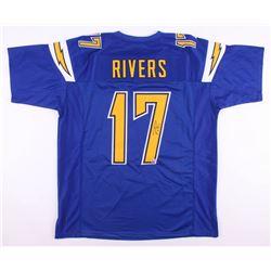 Philip Rivers Signed Jersey (Beckett COA)