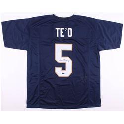 Manti Te'o Signed Jersey (Radtke COA)