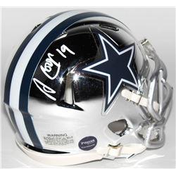 Amari Cooper Signed Dallas Cowboys Chrome Speed Mini Helmet (Prova COA)