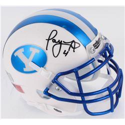 Taysom Hill Signed BYU Cougars Mini Helmet (Radtke COA)