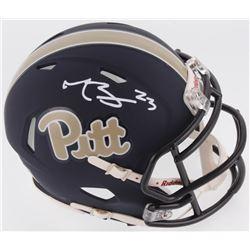 Tyler Boyd Signed Pittsburgh Panthers Speed Mini Helmet (Radtke COA)