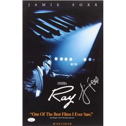 """Jamie Foxx Signed """"Ray"""" 11x17 Poster (JSA COA)"""