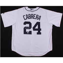 Miguel Cabrera Signed Detroit Tigers Jersey (JSA COA)