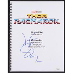 "Jeff Goldblum Signed ""Thor: Ragnarok"" Movie Script (JSA COA)"