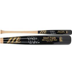 "Albert Pujols Signed Marucci Limited Edition 500 Career Home Runs Baseball Bat Inscribed ""500 HR Clu"