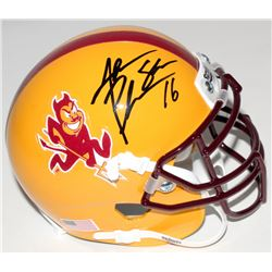 Jake Plummer Signed Arizona State Sun Devils Mini Helmet (Beckett COA)
