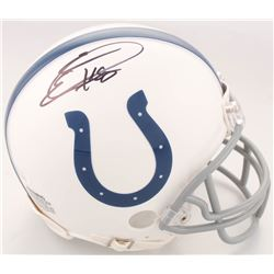Eric Ebron Signed Indianapolis Colts Mini Helmet (JSA COA)