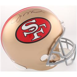 Joe Montana Signed San Francisco 49ers Full-Size Helmet (JSA COA)