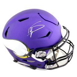 Stefon Diggs Signed Minnesota Vikings Full-Size Authentic On-Field SpeedFlex Helmet (Radtke COA)