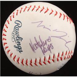 """Terminator: Dark Fate"" Baseball Signed By (5) with Linda Hamilton, Mackenzie Davis, Natalia Reyes,"