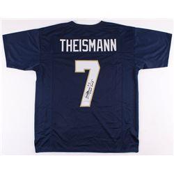 "Joe Theismann Signed Jersey Inscribed ""CHOF 2003"" (JSA COA)"