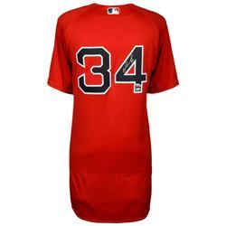 David Ortiz Signed Boston Red Sox Jersey (MLB Hologram  Fanatics Hologram)